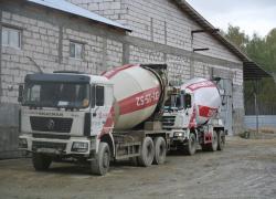 Доставка бетона миксером по Челябинску и области