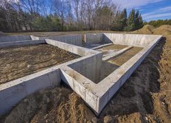 Выбор марки бетона для ленточного фундамента