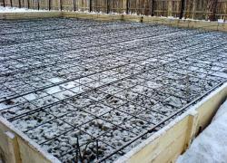 созревание бетона зимой
