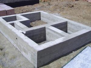 Расчет количества кубов бетона