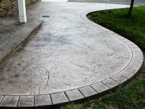 Декоративное применение бетона