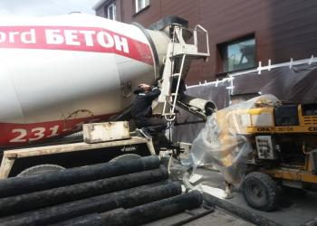 Работа с Автобетононасосом, Нордбетон, Бетон Челябинск 7